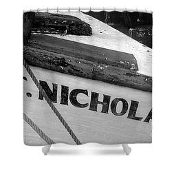 St. Nicholas Shower Curtain by David Lee Thompson