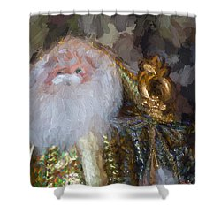 St. Nicolas Shower Curtain