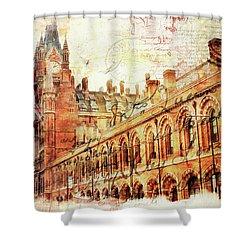 St Pancras Shower Curtain