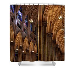 Shower Curtain featuring the photograph St. Patrick's Arches by Jessica Jenney