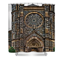 St. Patrick's Church Shower Curtain