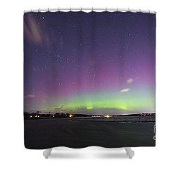 St. Patrick's Day Aurora 2015 Shower Curtain