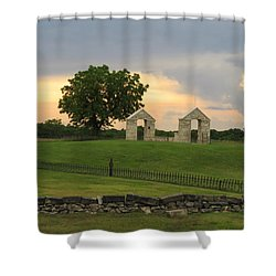 St. Patrick's Mission Church Memorial Shower Curtain