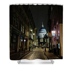 St. Pauls By Night Shower Curtain