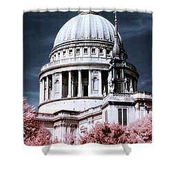 St. Paul's Cathedral's Dome, London Shower Curtain