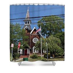 St Pauls Episcopal Church Patchogue Shower Curtain