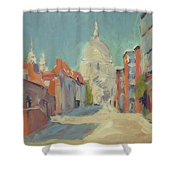 St Pauls London Shower Curtain