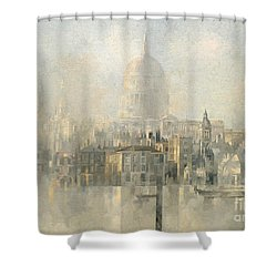 St Paul's Shower Curtain by Peter Miller