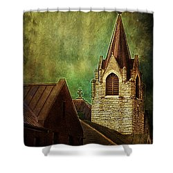 St Peter's By Night Shower Curtain