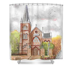 St. Peter's Catholic Church, Harpers Ferry, West Virginia Shower Curtain