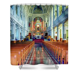St Peters Church  Shower Curtain