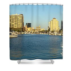 St Petersburg Florida Shower Curtain