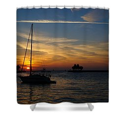 St. Petersburg Sunrise Shower Curtain