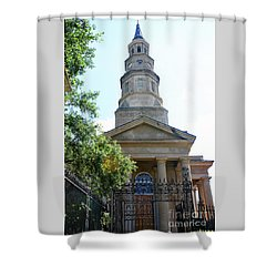 St. Phillips Episcopal Church, Charleston, South Carolina Shower Curtain