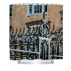 St. Philip's Gate Shower Curtain by Ed Waldrop