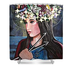 St. Philomena Shower Curtain