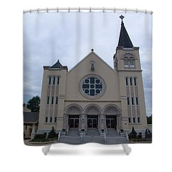 St Pius X Catholic Church Shower Curtain