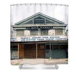 St Roch Market Shower Curtain