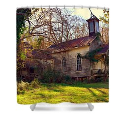 St Simon Church Peak Sc Shower Curtain