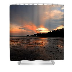 St Simons Island Shower Curtain
