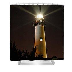 St Simons Island Lighthouse Shower Curtain