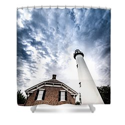 St Simons Lighthouse Shower Curtain
