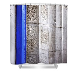 St. Sylvester's Doorway Shower Curtain