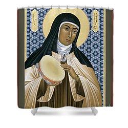 St. Teresa Of Avila - Rltoa Shower Curtain