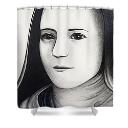St. Therese Of Lisieux Shower Curtain