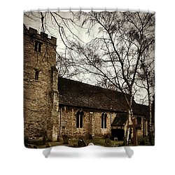Shower Curtain featuring the photograph St. Thomas The Martyr by Persephone Artworks