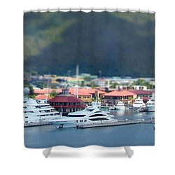 St. Thomas Us Virgin Islands Shower Curtain by Shelley Neff