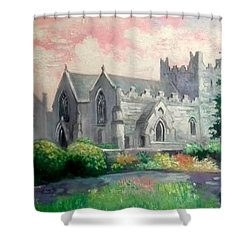 St Trinity Abbey Adare County Limerick Ireland Shower Curtain