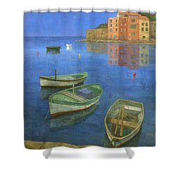St. Tropez Shower Curtain by Steve Mitchell