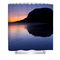 Stack Reflections Shower Curtain by Mike  Dawson