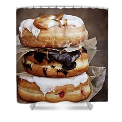 Stacked Donuts Shower Curtain