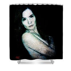 Stacy 2 Shower Curtain by Mark Baranowski