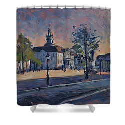 Stadhuis Maastricht Shower Curtain