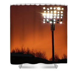 Stadium Lights Shower Curtain