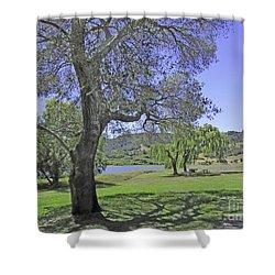 Stafford Lake Beauty Shower Curtain