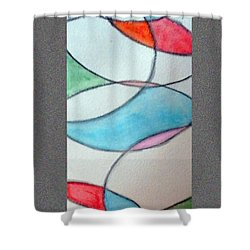 Stain Glass Shower Curtain