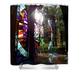 Stained Glass #4720 Shower Curtain by Barbara Tristan