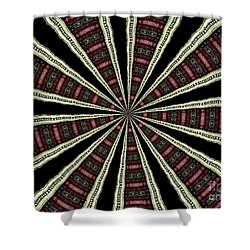 Shower Curtain featuring the photograph Stained Glass Kaleidoscope 14 by Rose Santuci-Sofranko