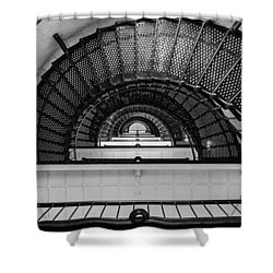 Stair Master Shower Curtain