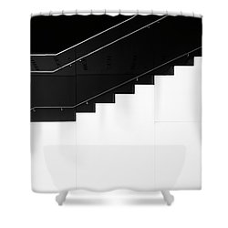 Shower Curtain featuring the photograph Stairs 3 by Elena Nosyreva