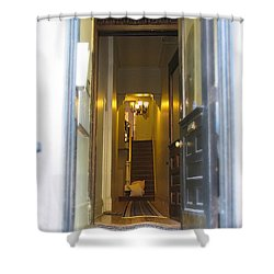 Stairs Shower Curtain by Christopher Woods