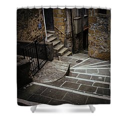 Stairs In Motion Shower Curtain