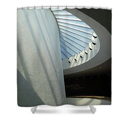 Stairway Abstract Shower Curtain