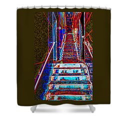 Stairway To Bliss Shower Curtain