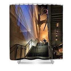 Stairway To Flight Shower Curtain