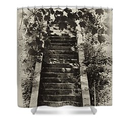 Stairway To Heaven Shower Curtain by Bill Cannon